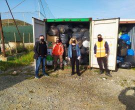 Δήμος Σύρου-Ερμούπολης: 8,1 τόνοι ρούχων για την ανταποδοτική ανακύκλωση