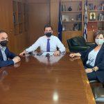 Συνάντηση του Δημάρχου Καρδίτσας με τον υπουργό Ενέργειας Κ. Σκρέκα