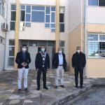 Αντιπροσωπεία του Δήμου Σαρωνικού στα Λύκεια με την ευκαιρία επανέναρξης των μαθημάτων