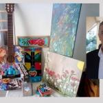 Κυριάκος Ευσταθίου: Ο Αλοννησιώτης καλλιτέχνης που ζωγραφίζει παντού και πάντα