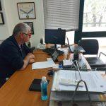 ΣΠΑΠ: Συμμετοχή Σιώμου σε τηλεδιάσκεψη για την επερχόμενη αντιπυρική περίοδο