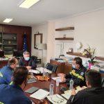 Συνάντηση Δημάρχου Ωρωπού με υψηλόβαθμα στελέχη της Πυροσβεστικής για το σχεδιασμό της αντιπυρικής περιόδου