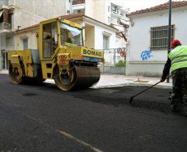 Δήμος Λαρισαίων: Στο τελικό στάδιο η ανακατασκευή της οδού Σεφέρη