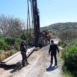Δήμος Γόρτυνας: Ξεκίνησαν οι εργασίες ανόρυξης νέας υδρευτικής γεώτρησης στην Αγία Βαρβάρα