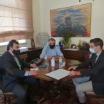 Συνάντηση Δημάρχου Πύργου με τον Αντιπεριφερειάρχη Π.Ε. Ηλείας Β. Γιαννόπουλο