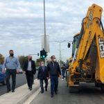 ΠΔΕ: Αυτοψία Φαρμάκη στα έργα ανάπλασης της βόρειας εισόδου της Πάτρας