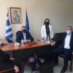 Με τον Βουλευτή Νίκο Παπαναστάση συναντήθηκε ο Δήμαρχος Αμφιλοχίας