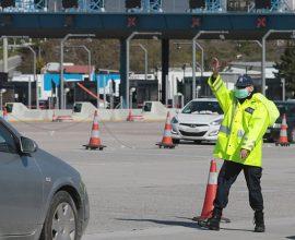Εντείνονται οι έλεγχοι της Αστυνομίας για τις μετακινήσεις στο εθνικό δίκτυο, ενόψει Πάσχα