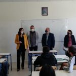 Επίσκεψη Υπουργού Παιδείας στο Λύκειο Δροσιάς μαζί με τον Δήμαρχο Διονύσου