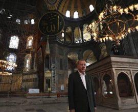 Ερντογάν, θα ζεις στη σκιά της Αγιά Σοφιάς – Πήγε ο Οθωμανός να προσευχηθεί