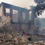 Σε ύφεση η πυρκαγιά στη Σάμο