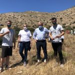 Δήμος Σαρωνικού: Δενδροφύτευση στο Μνημείο του ναυαγίου «ORIA», με αφορμή την Ημέρα της Γης