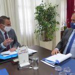 Επίσκεψη του Υφυπουργού Υποδομών & Μεταφορών στον Δήμαρχο Καστοριάς