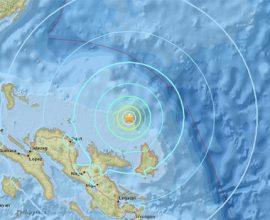 Φιλιππίνες: Σεισμός 6 Ρίχτερ στη Θάλασσα της Κελέβης