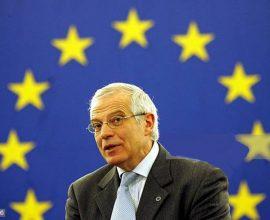 Μπορέλ: «Πολύ επικίνδυνη η κατάσταση στα σύνορα της Ουκρανίας»