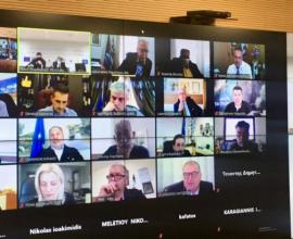 Πολιτική Προστασία: Σύσκεψη με ΚΕΔΕ και Περιφερειακές Ενώσεις Δήμων για την αντιπυρική περίοδο