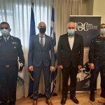 Επίσκεψη στον Περιφερειάρχη ΑΜΘ του νέου Διοικητή της Αστυνομικής Ακαδημίας