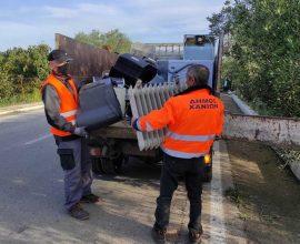 Δήμος Χανίων: Μαζεύτηκαν 3,5 τόνοι ηλεκτρικά και ηλεκτρονικά απόβλητα