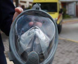 Κοζάνη: Στο Μποδοσάκειο Νοσοκομείο η πρώτη μικροβιοκτόνος μάσκα για τον κορονοϊό