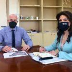 Διαδοχικές συναντήσεις της Δημάρχου Κεντρικής Κέρκυρας με τους Υφυπουργούς Περιβάλλοντος και Τουρισμού