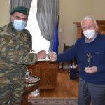 ΠΒΑ: Συνάντηση Περιφερειάρχη με τον νέο Διοικητή της 98 ΑΔΤΕ Στρατηγό Δ. Τσιπίδη