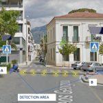 Εργασίες για την πρώτη «έξυπνη» διάβαση πεζών στην Καλαμάτα
