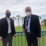 Σύσκεψη Περιφερειάρχη Πελοποννήσου με Υπερταμείο και ΑΕΔΙΚ για τον Ισθμό της Κορίνθου