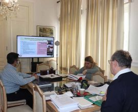 Τηλεδιάσκεψη με ΕΚΠΑ για τη Βιώσιμη ανάκαμψη στην Περιφέρεια Πελοποννήσου
