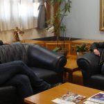Η κορυφαία Ελληνίδα συνθέτρια Λίνα Τόνια συναντήθηκε με τον Δήμαρχο Καλαμαριάς