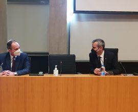 Δήμος Θεσσαλονίκης: Συνάντηση Ζέρβα με τον Υπουργό Ναυτιλίας και Νησιωτικής Πολιτικής