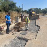 Αυτοψία Δημάρχου Μεσσήνης σε έργα που βρίσκονται σε εξέλιξη στις Τοπικές Κοινότητες
