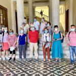 Ο Δήμος Σύρου-Ερμούπολης υποδέχθηκε τους πρώτους τουρίστες του νησιού