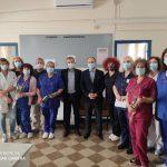 Κοντά στους νοσηλευτές ο Δήμαρχος Κιλκίς
