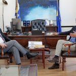 Επίσκεψη του Πρέσβη της Αυστραλίας στην Ελλάδα στον Δήμαρχο Χανίων