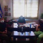 Συνάντηση Δημάρχου Δέλτα με τον Ευρωβουλευτή του ΚΙΝΑΛ Ν. Ανδρουλάκη