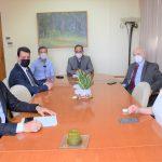 Επίσκεψη στο Δημαρχείο Καρδίτσας από τον Γ.Γ. του Υπουργείου Παιδείας