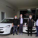 Δήμος Κατερίνης: Δωρεά δύο επιβατικών αυτοκινήτων από τη ΔΕΥΑΚ  στη Δημοτική Αστυνομία