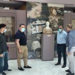 Επίσκεψη αναπληρωτή Δημάρχου Πύργου στο Αρχαιολογικό Μουσείο
