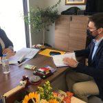 Ο Δήμαρχος Μαλεβιζίου συναντήθηκε με τον Αναπληρωτή Υπουργό Εσωτερικών