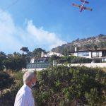 Άμεση κινητοποίηση του Αντιπεριφερειάρχη Αν. Αττικής στη φωτιά της περιοχής Αλθέας Κορωπίου