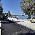 Δήμος Πατρέων: Ασφαλτοστρώνεται ο παραλιακός δρόμος στα Βραχνεΐκα