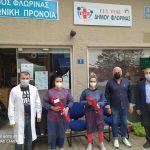Ολοκληρώθηκε η 2η εθελοντική αιμοδοσία του Δήμου Φλώρινας και του Γραφείου Εθελοντισμού