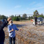 Παρουσία του Αντιπεριφερειάρχη Αν. Αττικής η 3η εναέρια εφαρμογή Ψεκασμών Κουνουπιών στον Υδροβιότοπο Εθνικού Πάρκου Σχινιά