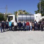 Δήμος Μεγαλόπολης: Παραλαβή 2 νέων απορριμματοφόρων