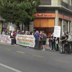 Ο Δήμος Κερατσινίου-Δραπετσώνας στην παράσταση διαμαρτυρίας έξω από την Περιφέρεια Αττικής