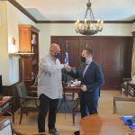 Συνάντηση Δημάρχου Βόλου με τον αναπληρωτή υπουργό Εσωτερικών