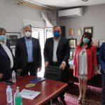 Συνάντηση του Δημάρχου Θάσου με τον Προέδρο του ΕΚΑΒ – ΚΕΠΥ