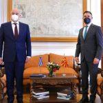 Σύρθηκε και ο Δένδιας στα Σκόπια να στηρίξει τους άρπαγες της Μακεδονίας