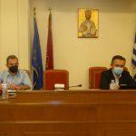 """Σύσκεψη Κασαπίδη-Κορεντσίδη: """"Ο Δήμος Καστοριάς στο κάδρο των αναπτυξιακών έργων"""""""