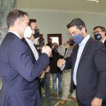 Στο Δημαρχείο Χανίων ο Πρόεδρος του ΕΟΔΥ & ο Πρόεδρος του Ξενοδοχειακού Επιμελητηρίου Ελλάδος
